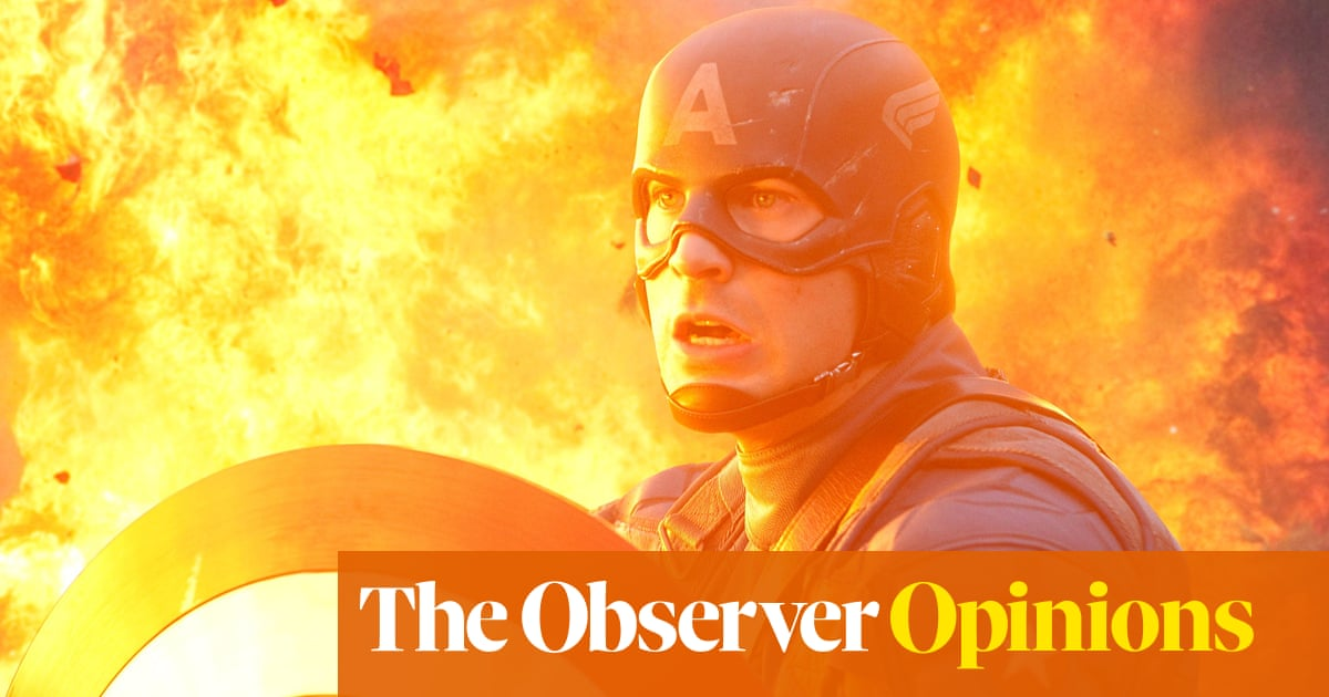 Sorry Marty, but Captain America is daring, serious art | Helen O'Hara