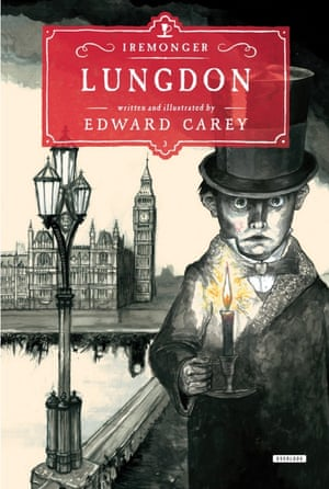 The cover of Edward Carey's Lungdon