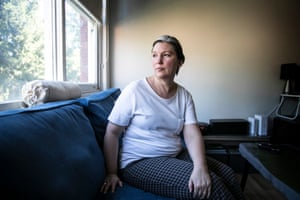Karen, who has been on Newstart for 10 years, has battled homelessness, depression and anxiety and has only $19 a day to live on after her bills are paid