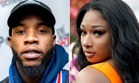 Tory Lanez and Megan Thee Stallion.