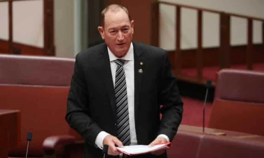 Fraser Anning in the Senate.