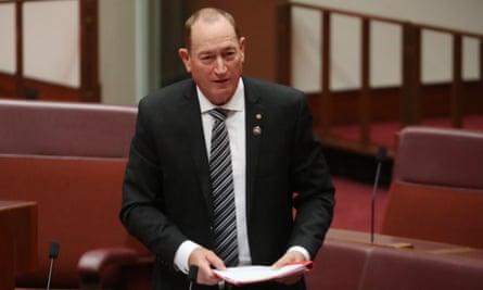Fraser Anning in the Senate