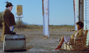 Bagdad Café film still, 30th anniversary. Marianne Sägebrecht, left, and CCH Pounder