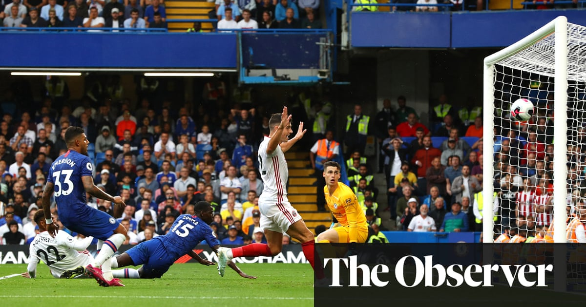 Kurt Zouma's late own goal gives Sheffield United a point at Chelsea