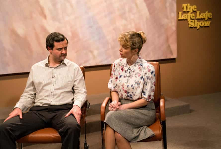 Sitting it out: with Daniel Mays in the forthcoming factual drama Mother's Day.