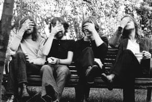 Pink Floyd in Belsize Park, 1970