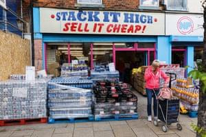 Bargain shopping in Hull.