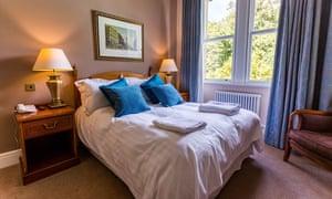 A bedroom at Villa Levens