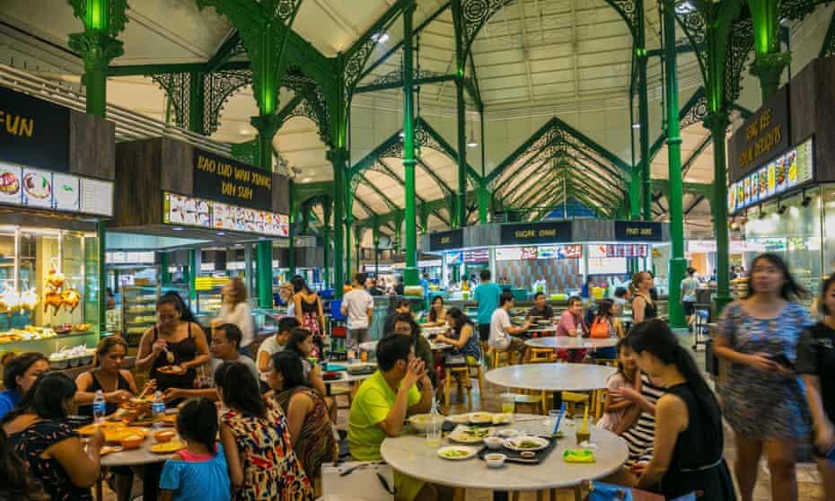 Lau Pa Sat. Old Market. Food Centre. Central Business District, Singapore