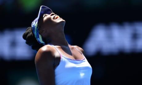 Venus Williams rolls back the years to reach Australian Open semi-finals at 36