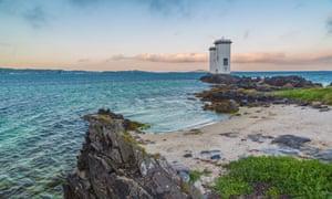 Carraig Fhada Lighthouse, Port Ellen, Islay.