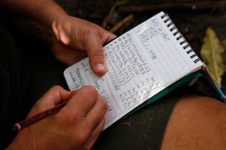 Taking notes.