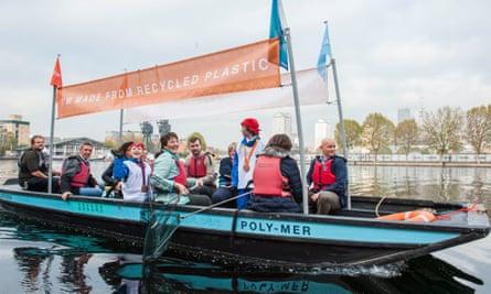 Poly-Mer boat
