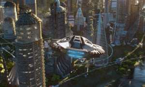 Wakanda in Marvel's Black Panther movie, on which Akon plans to base his new crypto city.