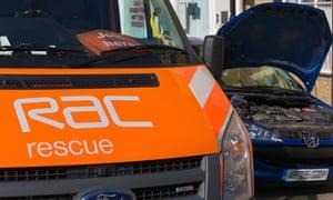 RAC rescue van