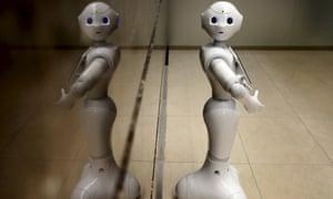 Pepper the concierge robot