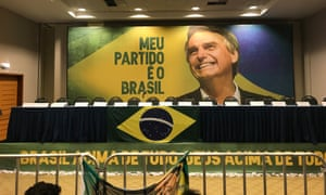 Stage is set for Jair Bolsonaro press conference