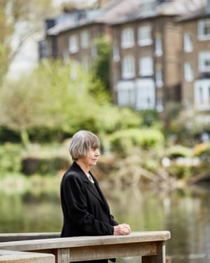 'I usually went alone, with a book and sometimes a sandwich. In the 70s, some of us sunbathed topless, officially frowned upon': Margaret Drabble.