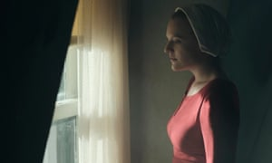 Elisabeth Moss starring in The Handmaid's Tale.