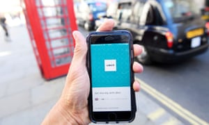 Transport for London has previously blocked the taxi app's licence.