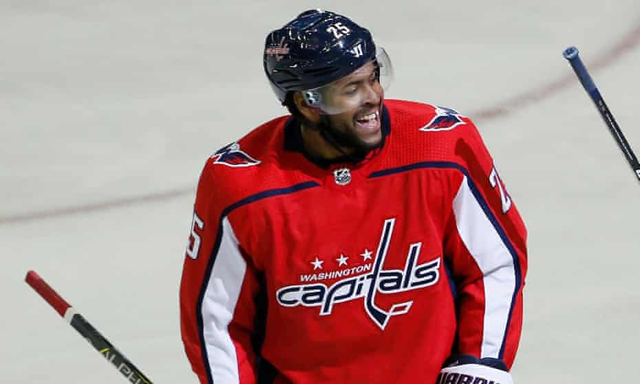 Devante Smith-Pelly is in his first season with the Capitals