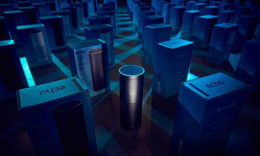Amazon Echo: an intelligent assistant who never sleeps.