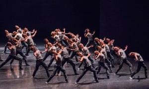 The Royal Ballet in Crystal Pite's Flight Pattern.