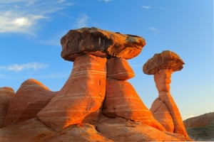 Hoodoo 'garden' in the Grand Staircase-Escalante national monument, Utah