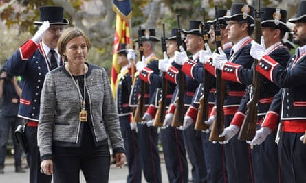 Carme Forcadell tweeted her support of Mas.