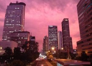 Thamrin road in central Jakarta