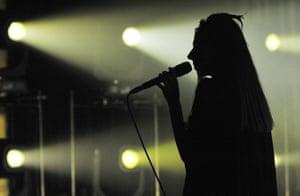 'Force of will' … PJ Harvey.