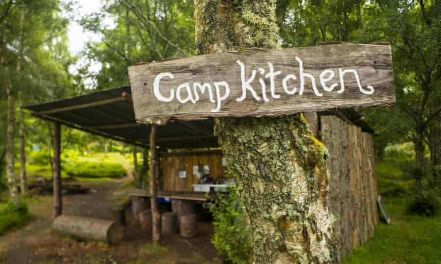 Ace Hideaways campsite