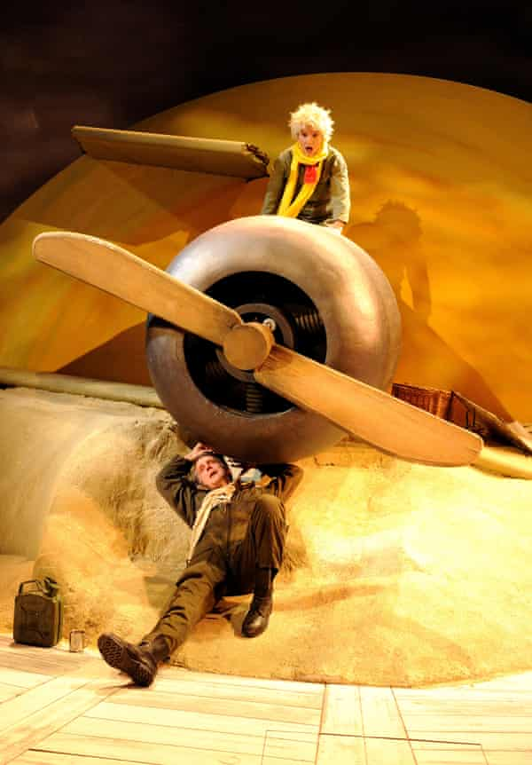The Little Prince at Hampstead theatre, London, in 2008