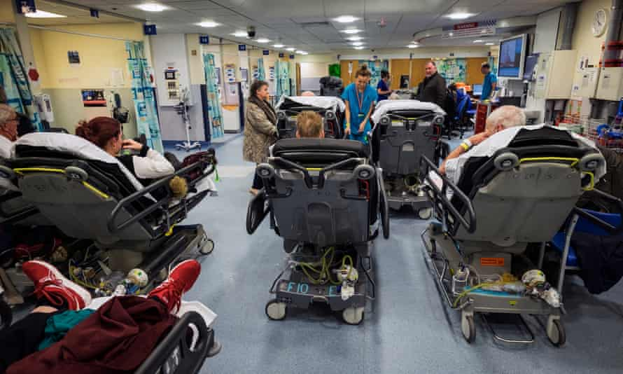 Nottingham's QMC hospital has added 10 cubicles to its A&E department and created two temporary wards, in attempt to mitigate the winter crisis.