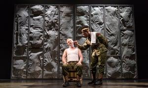 Steffan Rhodri as the Captain and John Boyega as Woyzeck.