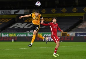 Conor Coady should have done better.