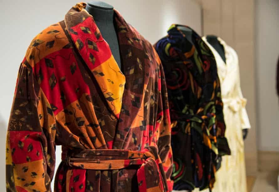 Modern reproductions of Noël Coward's smoking jackets