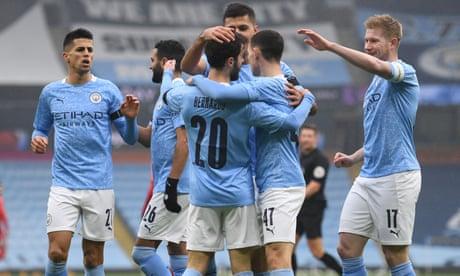 Bernardo Silva's double sees Man City coast to Cup win over Birmingham City