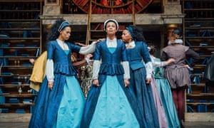 Vinette Robinson, Leah Harvey and Clare Perkins share the role of Emilia