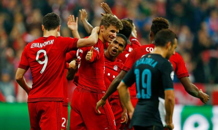 7ced73857 Bayern Munich v Arsenal  Champions League – as it happened ...