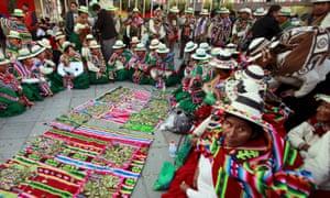 evo morales bolivia 10 years