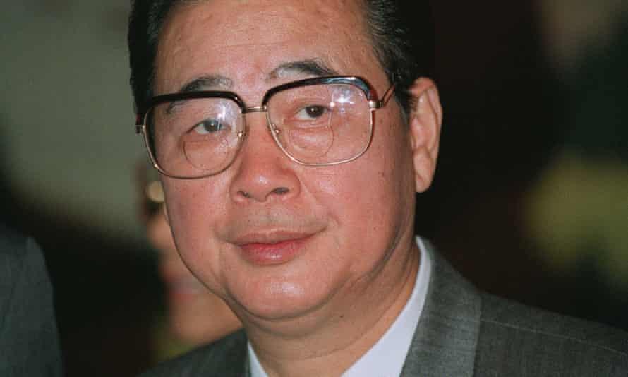 Li Peng, the father of Li Xiaolin.