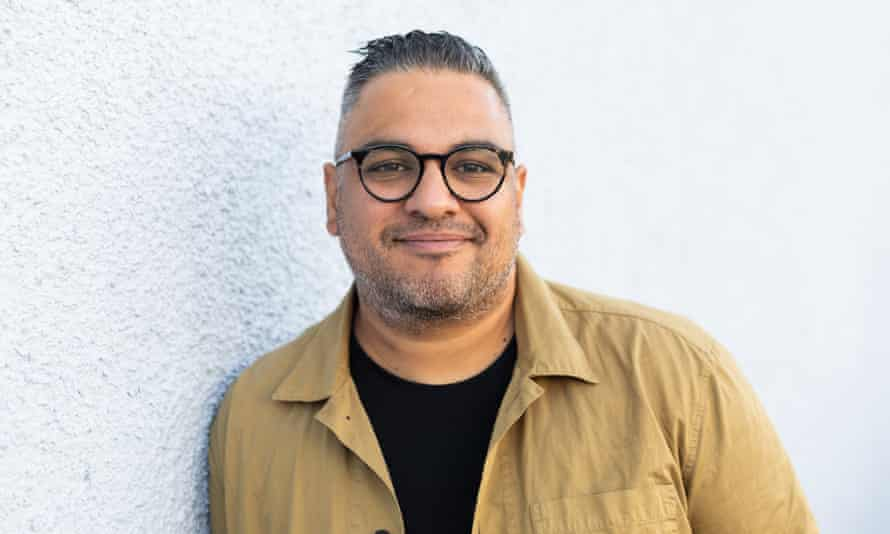 Nikesh Shukla, host of the Brown Baby podcast.