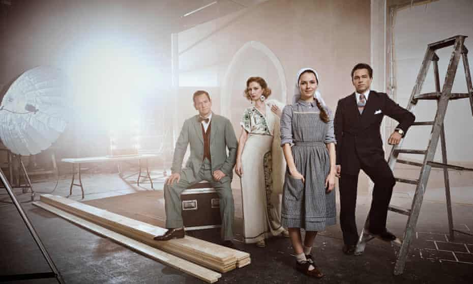 Max Detweiler [Alexander Armstrong], Baroness Schrader [Katherine Kelly], Maria Rainer [Kara Tointon] and Captain Georg von Trapp [Julian Ovenden].