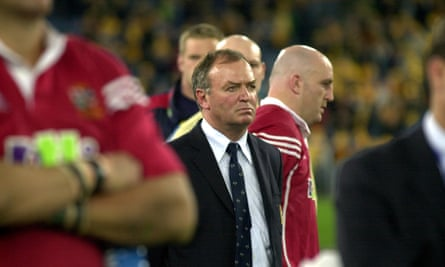 Graham Henry suffered defeat at coach of the Lions in Australia in 2001.