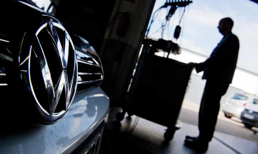 Volkswagen software uploading