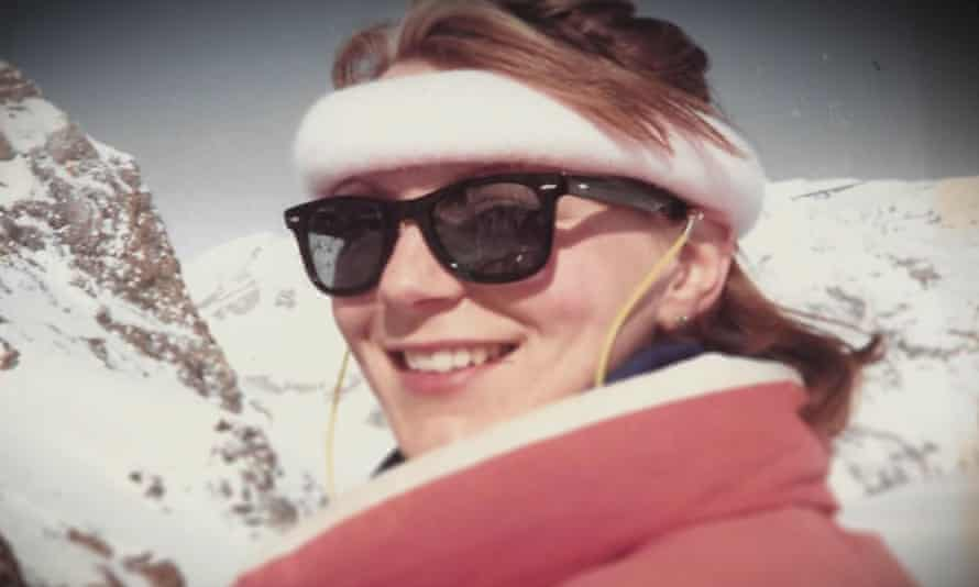 'Something might jog someone's memory' … a picture of Suzy skiing, released by the family.