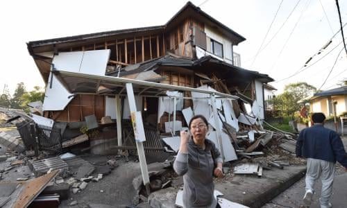 Image result for JAPAN STRUCK BY 7.3 MAGNITUDE EARTHQUAKE