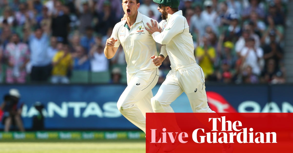Australia v New Zealand: Boxing Day Test, day two – as it happened