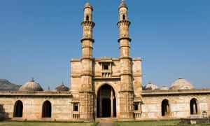 Jama Masjid mosque in the Champaner-Pavagadh Archaeological Park in Gujarat, India